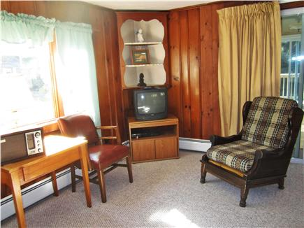 South Chatham Cape Cod vacation rental - Sitting Area with TV