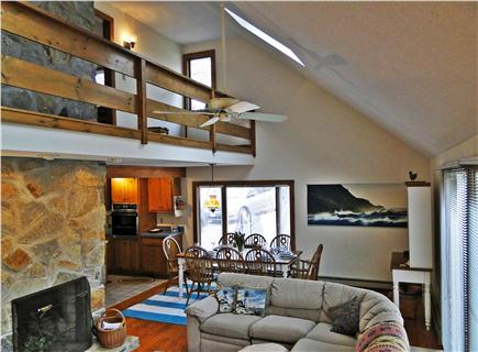 Eastham Cape Cod vacation rental - Open floor plan