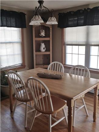 Dennisport Cape Cod vacation rental - Dining area of Eat-In Kitchen