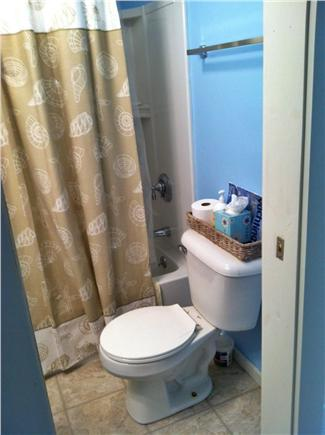 North Eastham Cape Cod vacation rental - All new bath with tub & shower, sink and toliet.