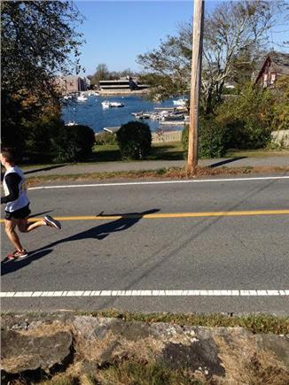 Woods Hole, Falmouth Woods Hole vacation rental - View from front porch- bikers, joggers and dogwalkers are common!