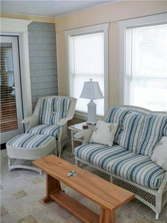 Orleans Cape Cod vacation rental - Sunroom with comfortable furniture for you to relax and enjoy!