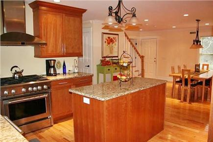 Orleans Cape Cod vacation rental - Modern well equipped kitchen with stainless appliances
