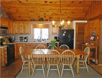 Eastham Cape Cod vacation rental - Spacious dining area for gathering, large kitchen