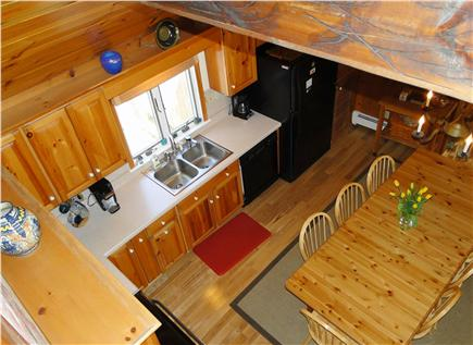 Eastham Cape Cod vacation rental - Large kitchen area with vaulted ceilings