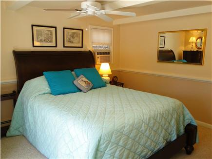 Eastham Cape Cod vacation rental - First floor master bedroom with queen bed, bathroom