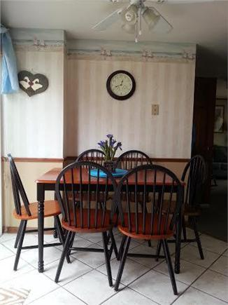 Chatham Cape Cod vacation rental - Eating Area - Kitchen, 1st Floor