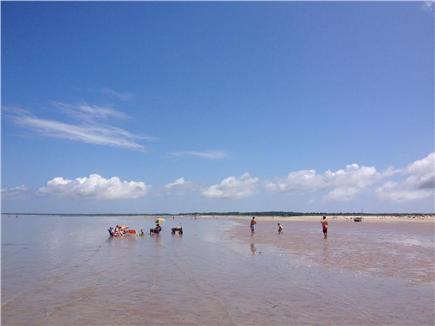 Brewster Cape Cod vacation rental - 5 minute drive to beautiful bay beach.