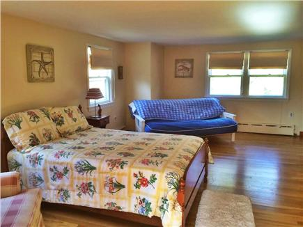 Brewster Cape Cod vacation rental - Upstairs MBR with doubl sized bed plus a futon and walk-in closet