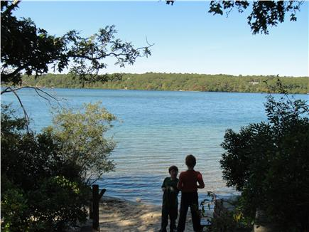 Brewster Cape Cod vacation rental - 2/10 mile to Sheep and Long Ponds.  Swim, kayak, canoe.