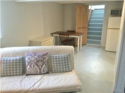Harwich Cape Cod vacation rental - View from bedroom doorway to living/dining area.