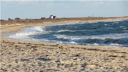 West Chatham Cape Cod vacation rental - Hardings Beach less than 1/2 mile walk away. Sidewalks too!