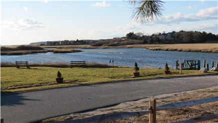 West Chatham Cape Cod vacation rental - Neighborhood dock with picnic area