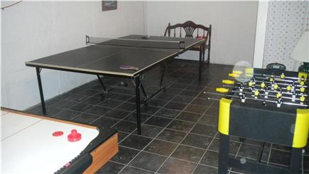 Bass River South Yarmouth Cape Cod vacation rental - Game room in basement