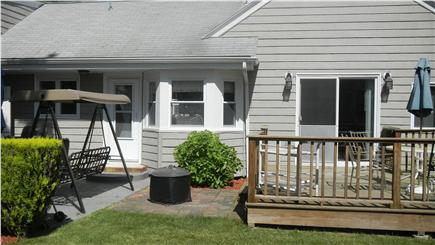 Bass River South Yarmouth Cape Cod vacation rental - Back yard