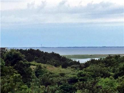 Truro Cape Cod vacation rental - Beautiful Bay view from deck at Truro vacation rental ID 24334