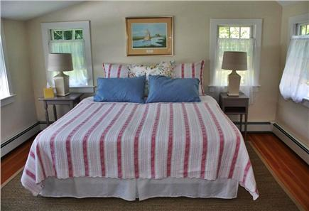 Cotuit Cotuit vacation rental - Bedroom 2 upstairs, has 2 twins in a king frame.