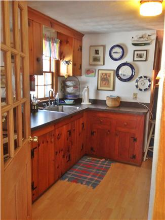 South yarmouth Cape Cod vacation rental - Kitchen entrance from 3 season sun porch