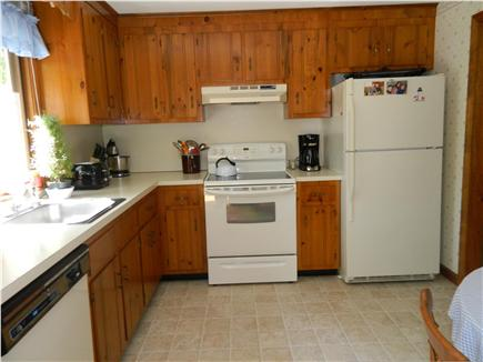 Brewster Cape Cod vacation rental - Efficient kitchen with all large and small appliances.