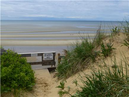 North Eastham Cape Cod vacation rental - Walk across the street to the beach