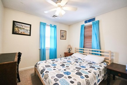 Onset MA vacation rental - Bedroom with queen