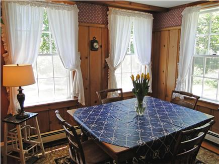 South Chatham Cape Cod vacation rental - Dining area, adjacent to kitchen