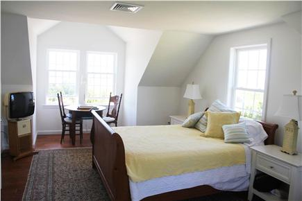 Eastham Cape Cod vacation rental - 2nd Floor Master Bedroom, Queen Bed, TV, Overlooks bay!