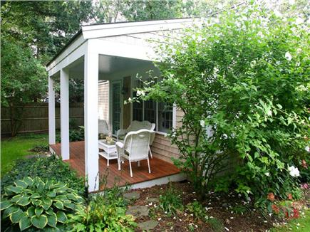 Osterville Osterville vacation rental - Side Porch