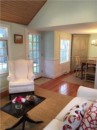 Osterville Osterville vacation rental - Family Room View From Dining Room