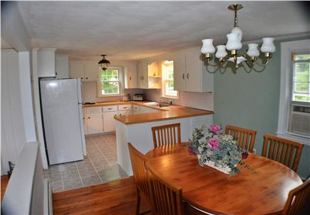 East Falmouth Cape Cod vacation rental - Large Kitchen and Dining Area