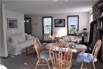 Wellfleet Cape Cod vacation rental - Open living and dining area