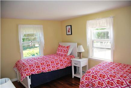 East Orleans Cape Cod vacation rental - Second bedroom with two twin beds.