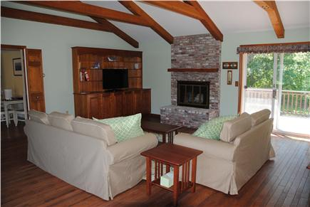 East Orleans Cape Cod vacation rental - Great room with 42 inch TV.