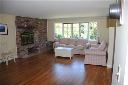 East Orleans Cape Cod vacation rental - Living room with bay window.