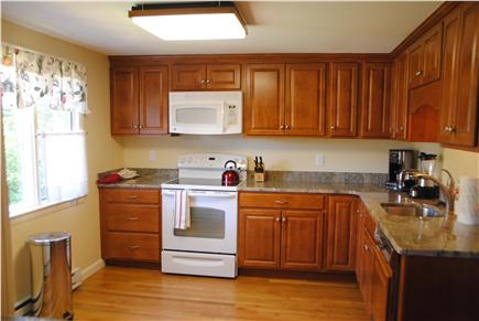 East Orleans Cape Cod vacation rental - New Kitchen with granite.