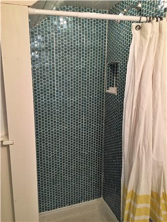 Orleans Cape Cod vacation rental - Beautiful New Glass Tile Shower