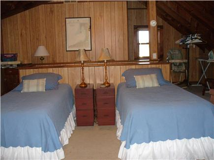 North Eastham Cape Cod vacation rental - Upstairs bedroom view of twin beds