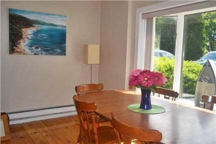 East Falmouth Cape Cod vacation rental - Dining Room Table w/ Seating for up to 10 people