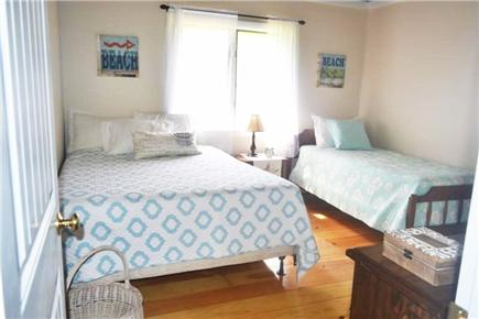 East Falmouth Cape Cod vacation rental - Bedroom #2 - Queen & Twin w/ AC