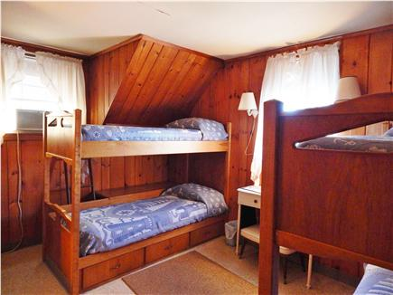Bourne, Monument Beach Cape Cod vacation rental - Bunk beds in Bedroom # 4