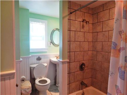 Bourne, Monument Beach Cape Cod vacation rental - Bathroom just outside bedroom