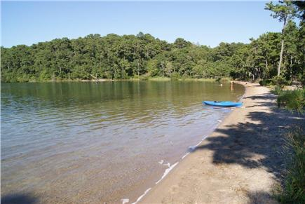 Brewster Cape Cod vacation rental - Flax Pond in Nickerson just 2/10 mile from home