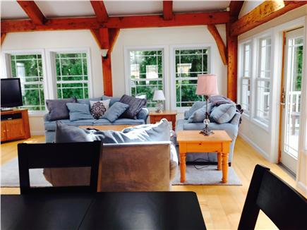 Brewster Cape Cod vacation rental - Great Room/Family Room