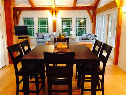 Brewster Cape Cod vacation rental - Pub-Style dining area in Great-Room