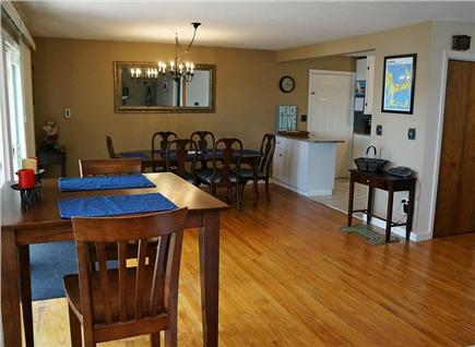 Falmouth Cape Cod vacation rental - Enjoy our bright open concept living space with superb lake view