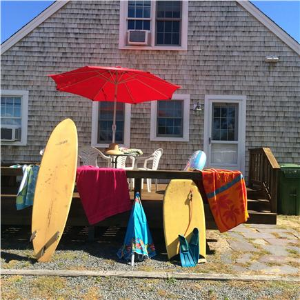 Eastham Cape Cod vacation rental - Deck Hang out after the beach.