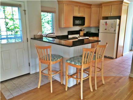 eastham Cape Cod vacation rental - Coffee anyone! Black Granite eat at counter.