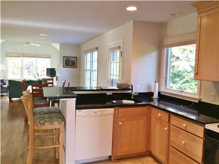 eastham Cape Cod vacation rental - Cooks view! Den and dining area and wonderful kitchen.