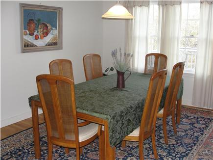 Eastham Cape Cod vacation rental - Dining area seats 6-8