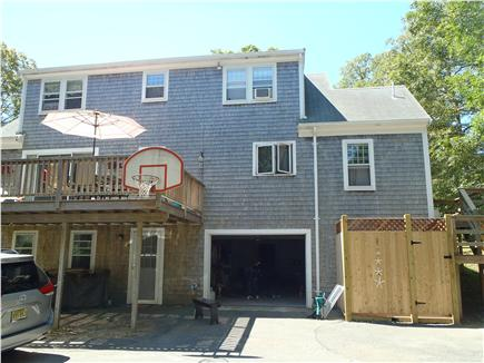 Chatham Cape Cod vacation rental - There is a large deck and one year old outdoor shower.